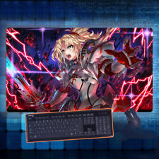 Anime Fate/Apocrypha Mordred Mouse Pad Play mat GAME Mousepad Cos 40*70cm#K-A81