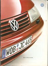 Prospekt von VW DER SHARAN + Preisliste  Ausgabe 1999 46 Seiten