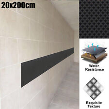 Black Vehicle Door Protector Garage Rubber Wall Guard Car Bumper Safety Parking