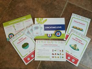 Raddish Kids Cooking Kit LUNCHTIME LOVE August 2020 EUC