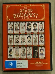 The Grand Budapest Hotel - DVD - Region 4 - FAST POST