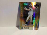 2006 Leaf Limited Drew Brees Gold Spotlight #/10