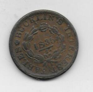 1835 Troy New York Merchant Token