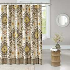 Madison Park Sabina Shower Curtain 72x72 Yellow