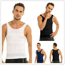 Men Sports Compression Shirts Tank Top Vest Base Layer Under Skin Tights Singlet