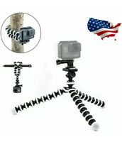 New Octopus Flexible Tripod Mount Stand for GoPro Hero 8 7 6 5 4 3 Action camera