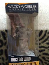 Doctor Who PLEURS ANGEL wacky wobbler bobble head figure set,