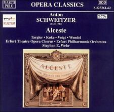 Anton Schweitzer: Alceste, New Music