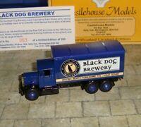 LLEDO - PROMO - 1937 SCAMMELL 6 WHEEL TRUCK - BLACK DOG BREWERY WHITBY -LTD EDIT
