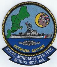 Uscgc Monomoy Wpb 1326, (Us Coast Guard Ship Patch)