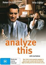 ANALYZE THIS DVD R4 Robert De Niro / Billy Crystal