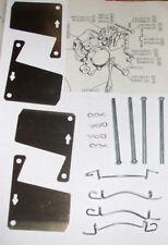 Lotus Eclat Elan Plus 2 Elite Freno Delantero Pad Kit de montaje (Pins & shims) (1971 -)