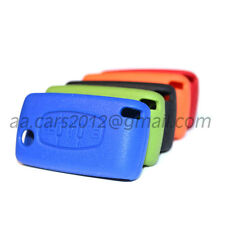 Peugeot and Citroen Car Key Case Cover Holder Skin Jacket with 9 colors