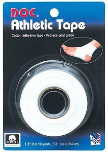 Doc Athletic Tape White 6 Rolls