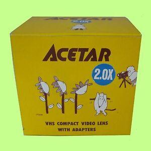 Acetar 2X  Tele Conversion Lens for Video / Digital Camera 43mm 46mm 49mm 52mm