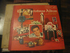 Elvis Presley; Elvis' Christmas Album RCA LOC 1035 on LP