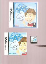 Rare !!! C'EST MOI QUI L'AI FAIT GARCON. Indispensable aux Petits : DS/DSi/3DS