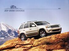 2008 08 Jeep Grand Cherokee Original  brochure MINT