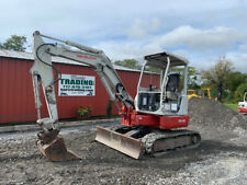 2013 Takeuchi Tb138fr Hydraulic Mini Excavator With 3rd Valve Coupler 3800hrs