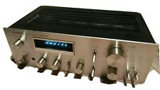 Pioneer SA 608 stereo amplifier hifi vintage home audio silver amplificatore blu