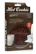 USB Cup Warmer Dark Brown Cookie Hot Green Red Black Tea Milk Coffe Soup New BN