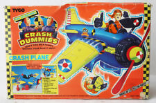 VINTAGE 1992 INCREDIBLE CRASH DUMMIES CRASH PLANE PLAYSET TYCO NEW SEALED !