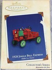 Hallmark Ornament 1928 Jingle Bell Express Kiddie Car Classics Series Brand New