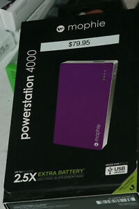 Mophie Powerstation 4000mAh 2.5x Quick Charge External Battery Power Bank