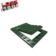 2 x [neu] LEGO Falltür 6 x 8 - dunkelgrün - 92099, 92107