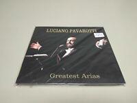 JJ9- LUCIANO PAVAROTTI GREATEST ARIAS CD NUEVO REPRECINTADO RARE!!!