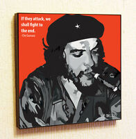 Che Guevara Painting Decor Print Wall Art Poster Pop Canvas Quotes Decals