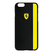 Ferrari Scuderia Protective Hard Case Cover For iPhone 6/6S - Black & Yellow