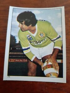 1984 SCANLENS RUGBY LEAGUE STICKER #71, Percy Knight ,  Canberra Raiders