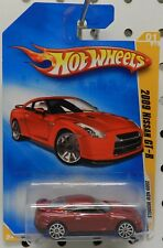 RED 2009 NISSAN GT-R GT R 09 001 1 01 SPORTS CAR HW HOT WHEELS