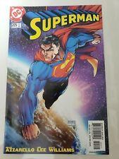 SUPERMAN #205 (2004) DC COMICS MICHAEL TURNER VARIANT COVER! GREAT JIM LEE ART!