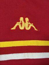 Vintage Kappa ASIA Men's Soccer Track Warm Up Red Jacket Super Rare Size Medium