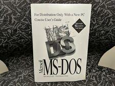 Microsoft MS-DOS 6.22 Full Version - New Sealed w/ COA