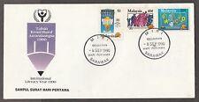 FDC M'sia Literacy Year 8.9.1990