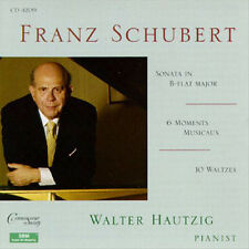 Walter hautzig/Franz Schubert-Sonata (d.960) - CD NUOVO