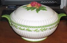 ROYAL ALBERT Country Rose Season of Color Casserole Vegetable serving bowl MINT