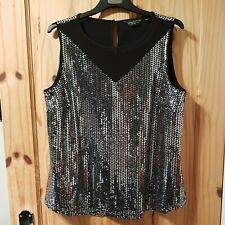 Dorothy Perkins - Sparkly Top - 16
