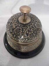 BEAUTIFUL DESIGN ANTIQUE STYLE SHOP COUNTER HOTEL RECEPTION BRONZED BRASS BELL