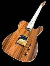 NEW EXOTIC COCOBOLO TOP 6 STRING TL STYLE ELECTRIC GUITAR SOLID BODY HUMBUCKER