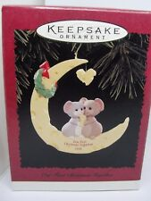 1996, OUR FIRST CHRISTMAS TOGETHER, HALLMARK KEEPSAKE ORNAMENT