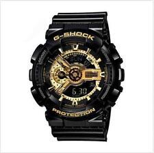 New Casio Men's G-Shock GA110GB-1A Black Resin Quartz Fashion Watch