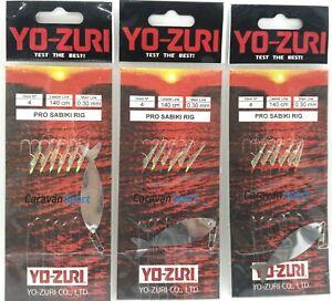 Sabiki Pesca Pro Aparejo Varios Colores Yo-Zuri de Arrastre Marco Finales Mar