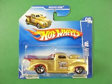Hot Wheels 1/64 Diecast 1940 Ford Pick Up Race Truck BX74