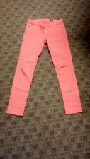 AG JEANS Red White Polka Dot The Legging Super Skinny Ankle Jeans Size 27 GG8850