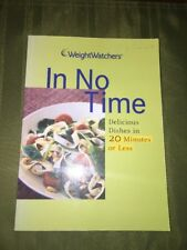 Weight Watchers Book IN NO TIME diet healthy cooking recipes weight loss Points