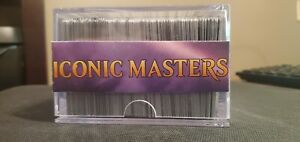 Iconic Masters COMPLETE set 001/249 Unused Magic the Gathering Cards